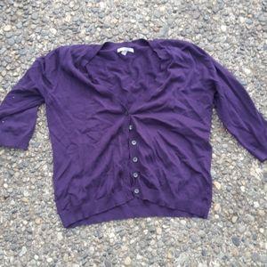 Purple old Navy sweater